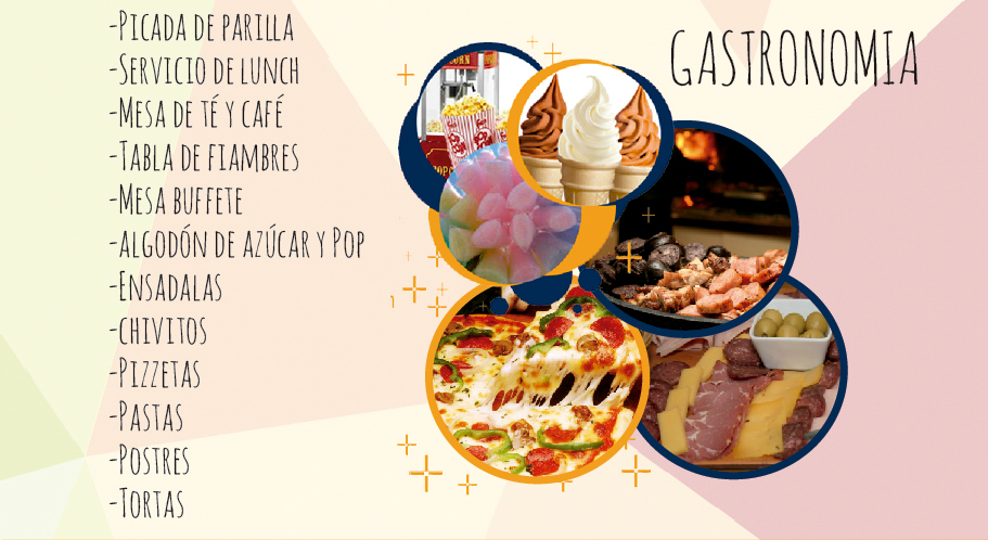 Gastronomía en Fun World